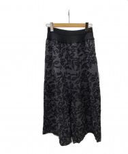 BEARDSLEY (ビアズリー) 総刺繍サルエルパンツ ブラック サイズ:F