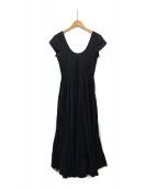 ()の古着「草原の虹のドレス」|ブラック