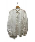 ()の古着「ブロードシャツ」 ホワイト