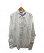 Acne studios(アクネストゥディオス)の古着「ステッチポケットシャツ」|ホワイト