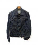 Vivienne Westwood man(ヴィヴィアン ウェストウッド マン)の古着「デザインデニムジャケット」|インディゴ