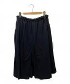 GROUND Y(グラウンドワイ)の古着「ハカマスカートパンツ」 ブラック