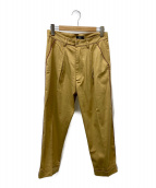()の古着「Stretch chino slacks」 ベージュ