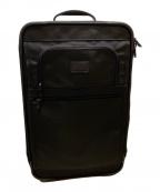 TUMI(トゥミ)の古着「エクスパンダブルキャリーバッグ」|ブラック