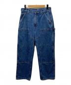 CarHartt(カーハート)の古着「ダブルニーデニムパンツ」|インディゴ