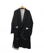 sulvam(サルバム)の古着「Classic over coat」|ブラック