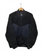 GOLDWIN(ゴールドウイン)の古着「FRONT ZIP FLEECE」|ブラック