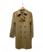 LAUTRE AMONT()の古着「王道ベーシックトレンチコート」|ベージュ