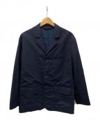 MARNI(マルニ)の古着「ウァッシャー加工ウールジャケット」 ネイビー