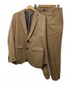 STUDIOUS(ステュディオス)の古着「サキソニー2Bストレッチセットアップスーツ」|ベージュ