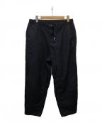 THE NORTHFACE PURPLELABEL(ザノースフェイス パープルレーベル)の古着「corduroy wide tapered pants」 ブラック