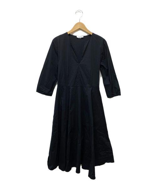 MAX&Co.(マックスアンドコー)MAX&Co. (マックスアンドコー) ブラウスワンピース ブラック サイズ:36の古着・服飾アイテム