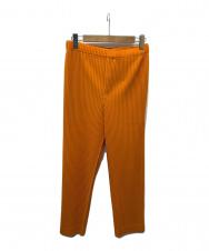HOMME PLISSE ISSEY MIYAKE (オムプリッセ イッセイミヤケ) MONTHLY COLOR FEBRUARY オレンジ サイズ:2