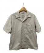 nanamica(ナナミカ)の古着「Open Collar Wind H/S Shirt」|アイボリー