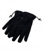 STONE ISLAND(ストーンアイランド)の古着「ロゴ入り手袋」|ブラック