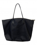 ROBERTA PIERI()の古着「幾何学ナイロントートバッグ」 ブラック