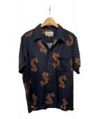 ()の古着「HAWAIIAN SHIRT S/S」 ブラック