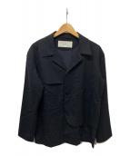 ()の古着「ポケットデザインジャケット」 ブラック