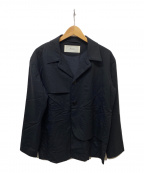 Julian David(ジュリアン デイヴィッド)の古着「ポケットデザインジャケット」|ブラック