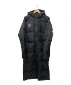 UMBRO(アンブロ)の古着「ベンチダウンコート」|ブラック