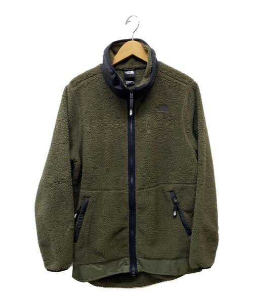 THE NORTH FACE(ザ ノース フェイス)THE NORTH FACE (ザ ノース フェイス) フリースジャケット オリーブ サイズ:Mの古着・服飾アイテム