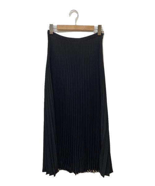LAURECE BRAS(ローレンス ブラス)LAURECE BRAS (ローレンス ブラス) プリーツスカート ブラック サイズ:記載なしの古着・服飾アイテム