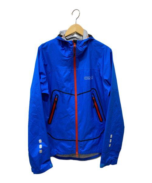 OMM(オリジナルマウンテンマラソン)OMM (オリジナルマウンテンマラソン) マウンテンパーカー ブルー サイズ:Mの古着・服飾アイテム