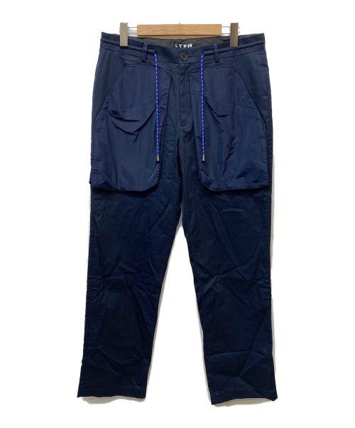 LYPH(ライフ)LYPH (ライフ) トラウザーパンツ ネイビー サイズ:Mの古着・服飾アイテム