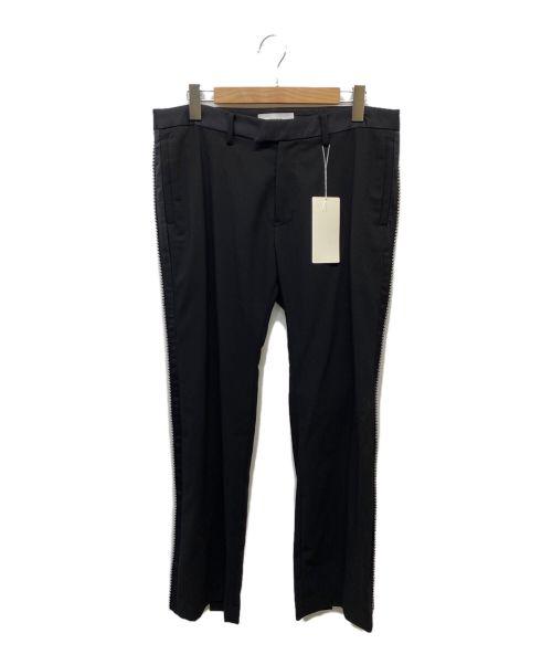 FACETASM(ファセッタズム)FACETASM (ファセッタズム) SLIT TAXEDO PANTS ブラック サイズ:5の古着・服飾アイテム