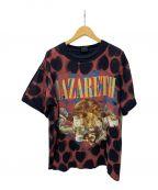 SAINT MICHAEL()の古着「ハートTプリントシャツ」 ブラック