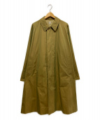 ()の古着「オーバーサイズステンカラーコート」|ベージュ