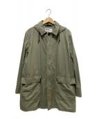 MHL(エムエイチエル)の古着「フーデッドコート」|オリーブ