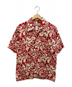 ()の古着「オーガニックコットンアロハシャツ」|レッド