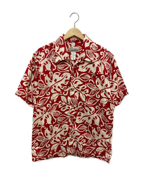 pataloha(パタロハ)pataloha (パタロハ) オーガニックコットンアロハシャツ レッド サイズ:S パタゴニアの古着・服飾アイテム