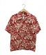 pataloha(パタロハ)の古着「オーガニックコットンアロハシャツ」|レッド
