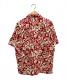 pataloha (パタロハ) オーガニックコットンアロハシャツ レッド サイズ:S パタゴニア:6800円