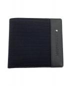 MONTBLANC(モンブラン)の古着「2つ折り財布」|ブラック