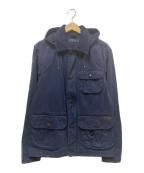 POLO RALPH LAUREN()の古着「フード付ハンティングジャケット」|ネイビー