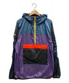 GLOBE(グローブ)の古着「パッカブルアノラックジャケット」|マルチカラー