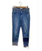 Ameri(アメリ)の古着「カットオフデニムパンツ」|インディゴ