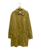 DANTON(ダントン)の古着「ナイロンステンカラーコート」|ブラウン