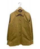 Salvatore Ferragamo(サルヴァトーレフェラガモ)の古着「カバーオールシャツジャケット」|ブラウン