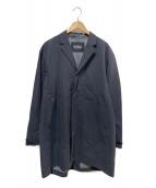 WILD THINGS(ワイルドシングス)の古着「3レイヤーオーバーコート」 ブラック