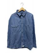 DESCENDANT(ディセンダント)の古着「シャンブレーシャツ」|インディゴ