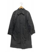 DRIES VAN NOTEN(ドリスバンノッテン)の古着「ステンカラーコート」|ブラック