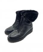 UGG()の古着「フロントジップ2wayブーツ」|ブラック
