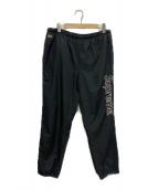 Supreme×LACOSTE(シュプリーム×ラコステ)の古着「コラボトラックパンツ」 ブラック