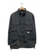 WTAPS(ダブルタップス)の古着「M65刺繍ジャケット」|ブラック