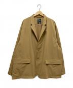 DAIWA PIER39(ダイワ ピアサーティンナイン)の古着「ルーズストレッチジャケット」 ベージュ