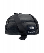 SUPREME×THE NORTH FACE(シュプリーム ×ザノースフェイス)の古着「Leather Roo II Lumbar Pack」|ブラック